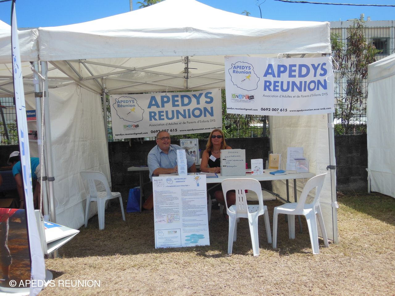 Photo Journée du Handicap 2015 - Stand Apedys