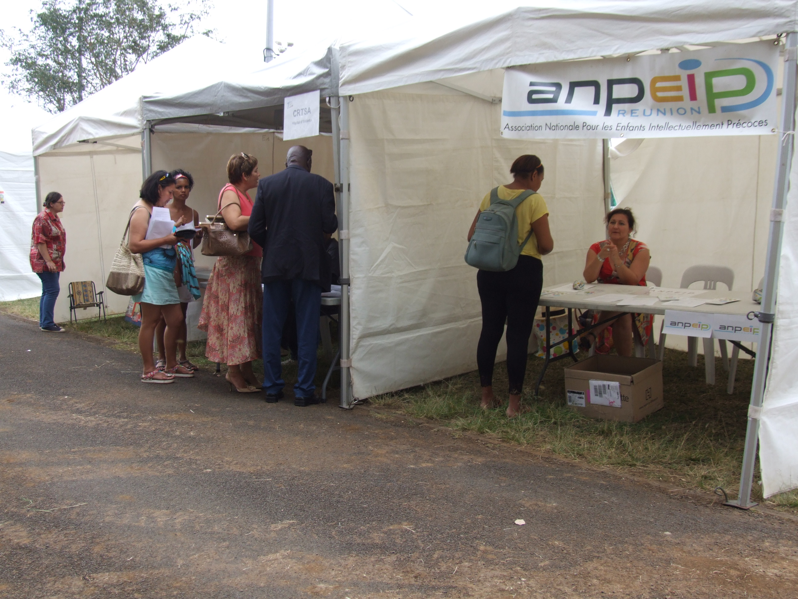 Photo Journee Nationale des Dys 2015 - 10 - Stand Association Nationale Pour les Enfants Intellectuellement Precoces.JPG